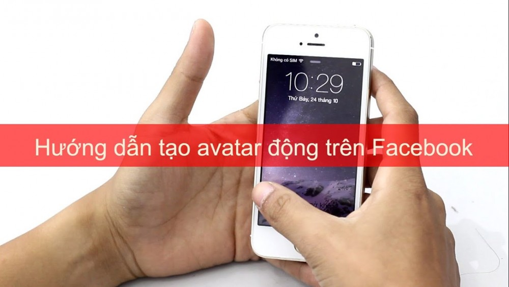 Cách Tạo Avatar Dong Tren Facebook