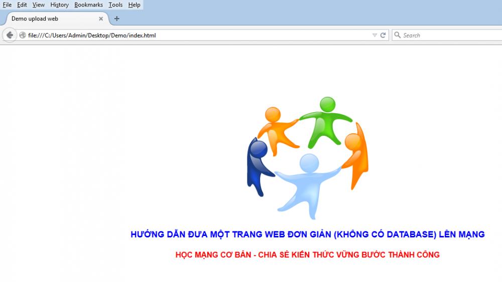 Cách Viết Một Trang Web đơn Giản