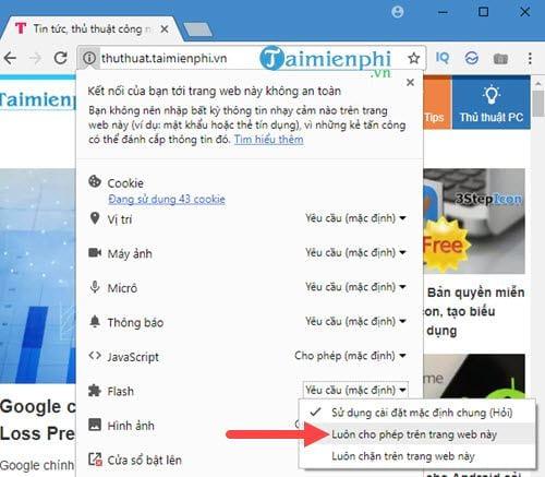 cach khac phuc loi plugin tren google chrome 7