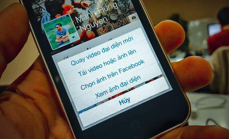Hướng dẫn cách tạo avatar động cho Facebook thật chân thực hình 1