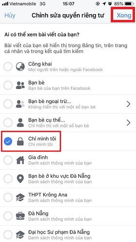 lam the nao de tat binh luan like tren anh dai dien facebook