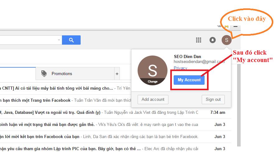 Cai Dat Tai Khoan Google Https Myaccountgooglecom