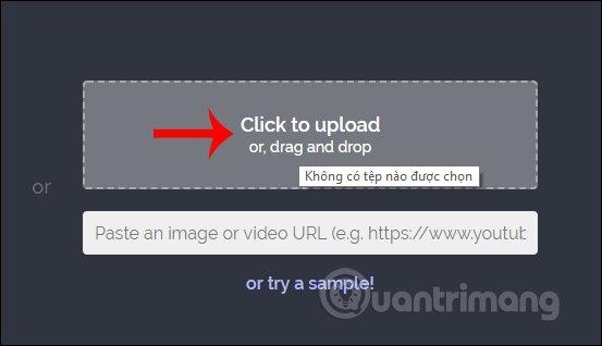 Tải video lên Kapwing