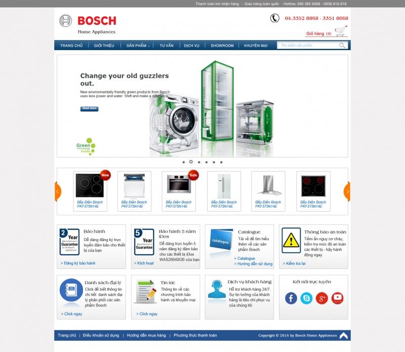Mẫu Thiết kế web của công ty Angkorich