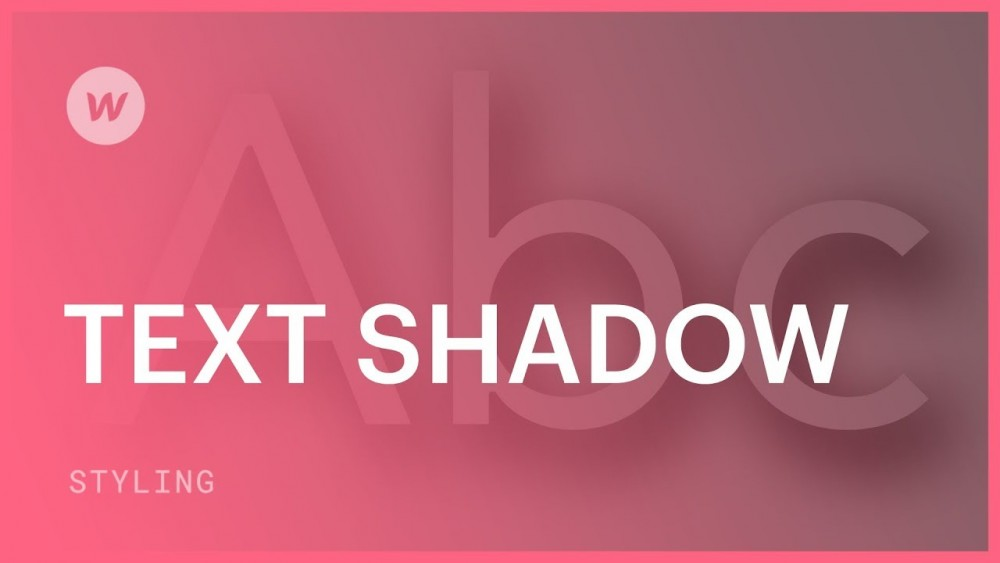 Text Shadow Trong Css