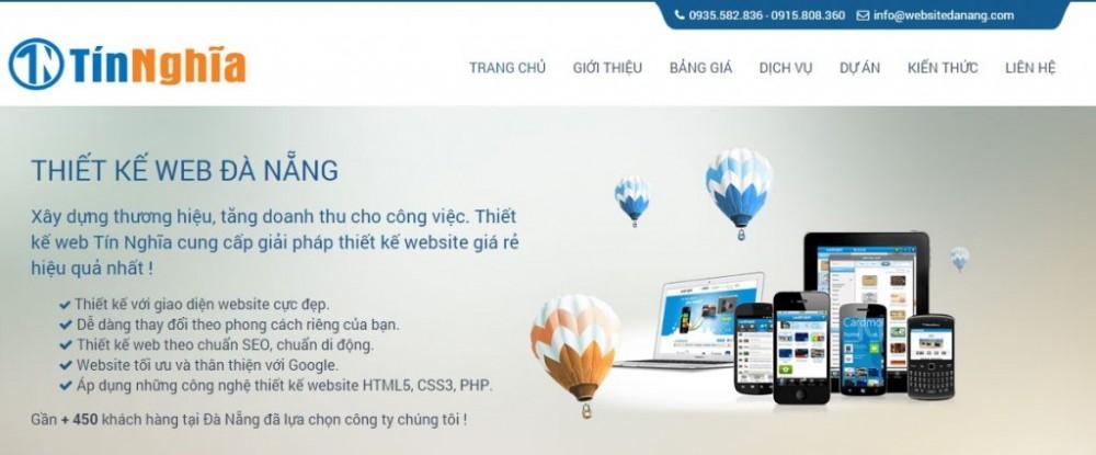 Tổng hợp thiết kế website đà nẵng mới nhất 2020