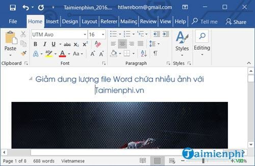 cach lam giam dung luong file word chua nhieu anh 2