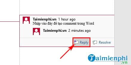 cach xoa comment trong word 8
