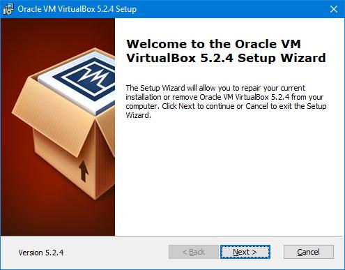 Cài đặt máy áo VirtualBox trên Windows 10