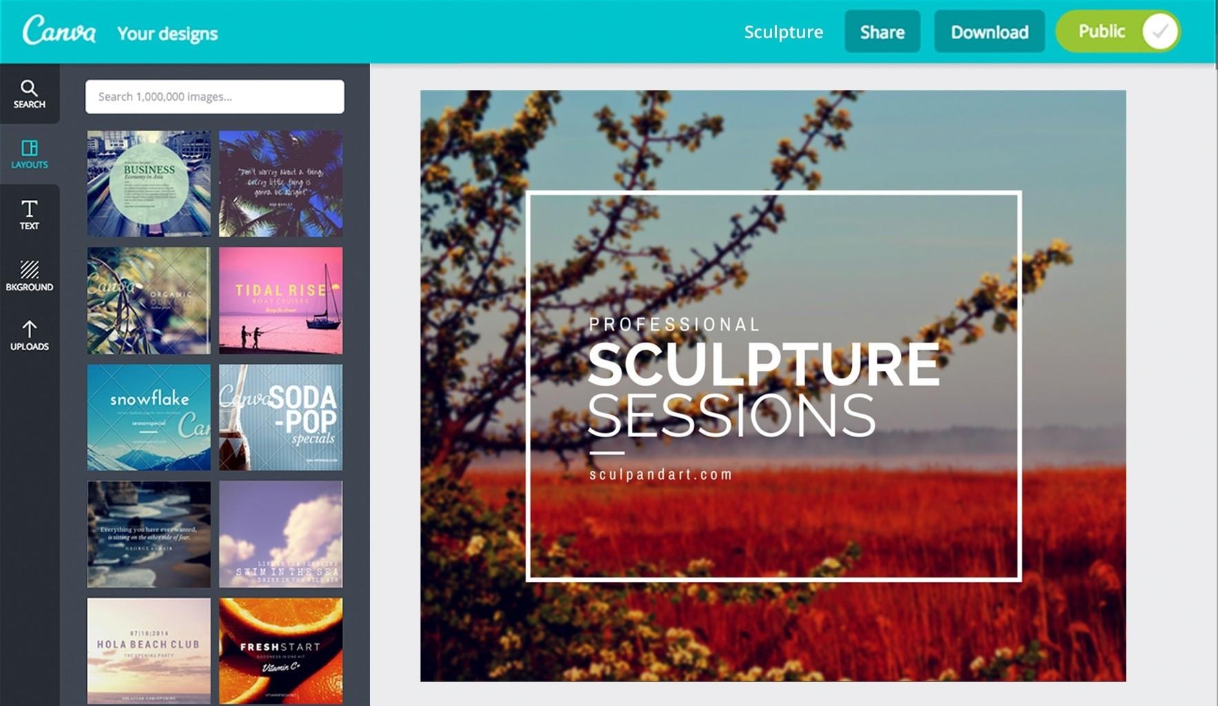 Mách bạn 10 website thiết kế hình ảnh online tốt nhất 2017